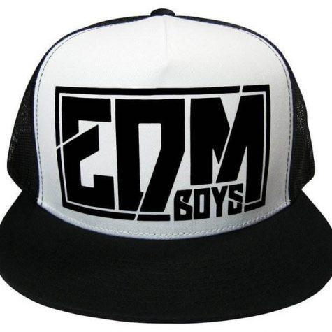 RTGraphics-Unisex-EDM-Boys-Electronic-Dance-Music-Trucker-Hat-Mesh-Snapback-Cap